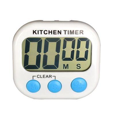Horloge de cuisine minute LCD Digital Horloge Sport Timer Cuisine Countdown Up rose