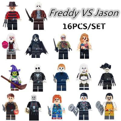 Jason Voorhees Roblox Id Building Blocks Doll Robot Game Hand Made Ornaments Buy At A Low Prices On Joom E Commerce Platform
