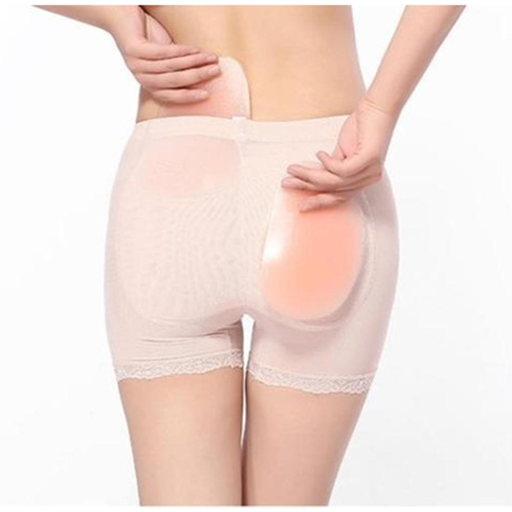 145780eeb86b Women Hip Up Silicone Pads Lift Butt Enhancer Panties Undies Buttock ...