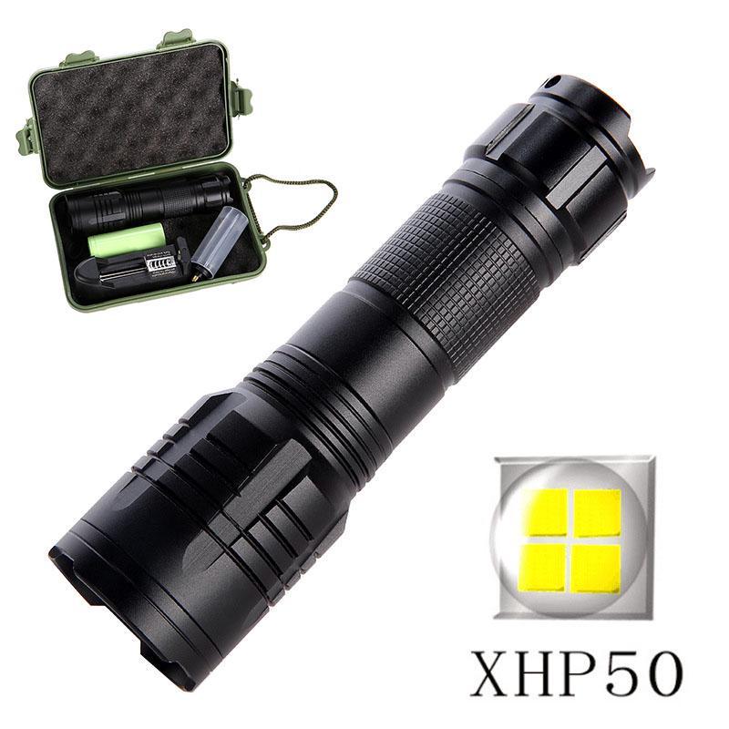 Bright Rechargeable Pen Lamp Waterproof Micro Torch Aluminium  Battery ci