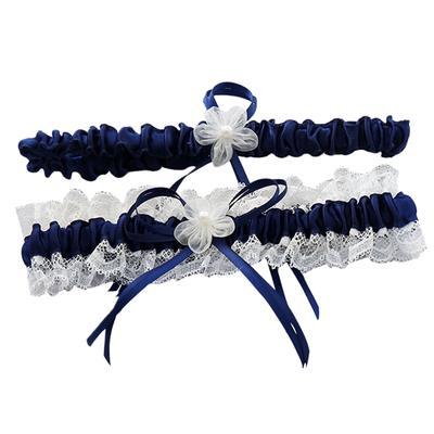 54e061539 Ligas de novia Liga encaje cinta flor decoraciones para la novia y Dama de  honor (