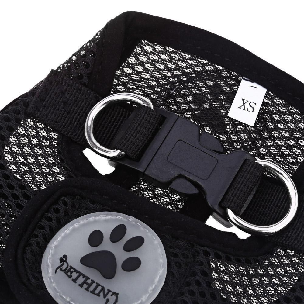 Pething Pet Harness Leash Strap Soft Mesh Dog Cat Adjustable Vest Safe Collar Cloth with Clip-buy at a low prices on Joom e-commerce platform