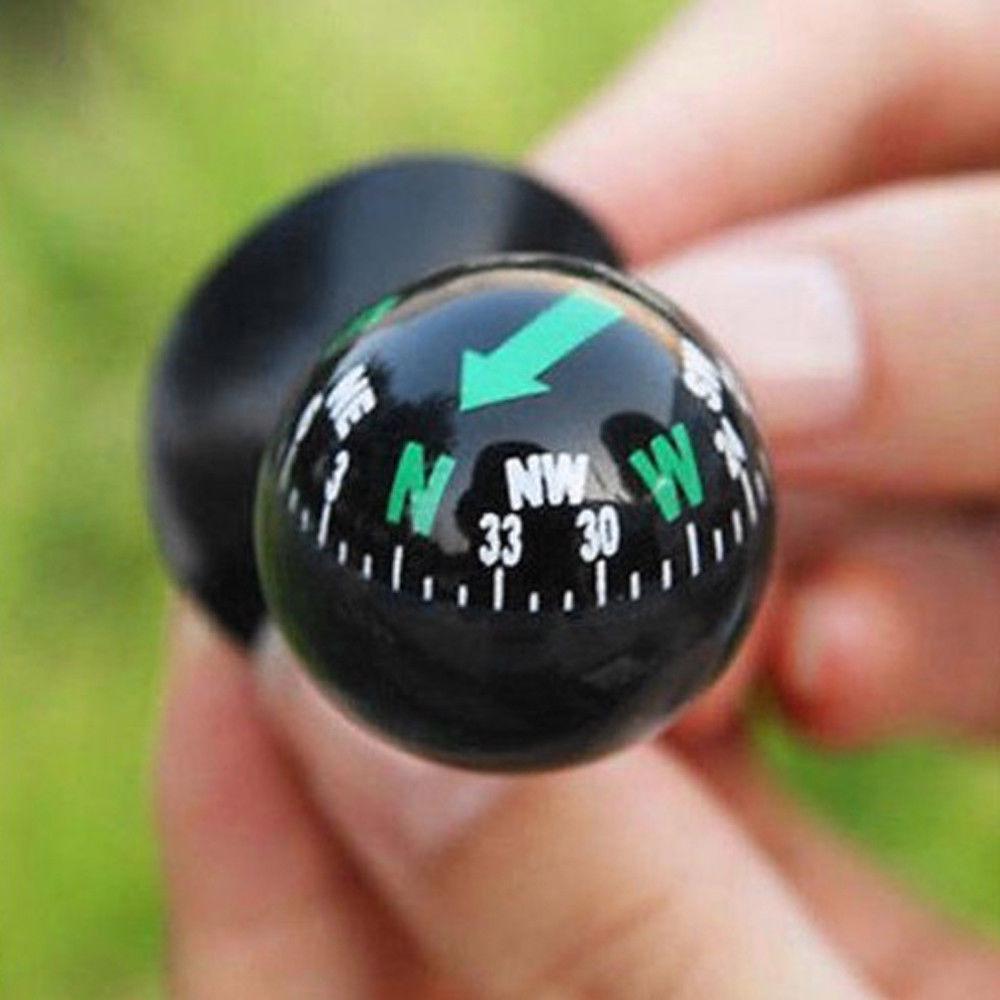 Dash Mount Compass,Car Boat Mini Dashboard Suction Mount Navigation Compass Pocket Hiking Direction Guide Ball