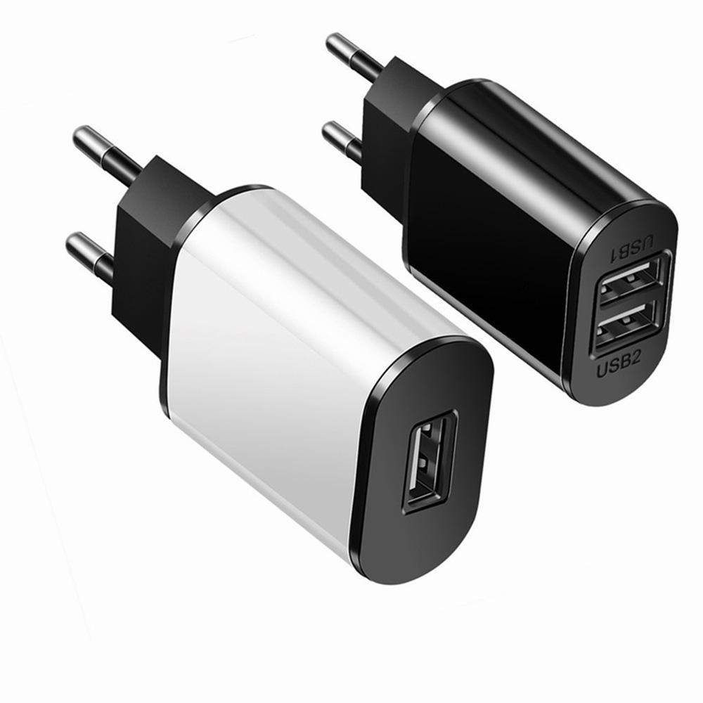 Один USB порт/Dual USB порт универсальной 5V 2A стены зарядное устройство путешествие портативный USB зарядное устройство адаптер питания фото