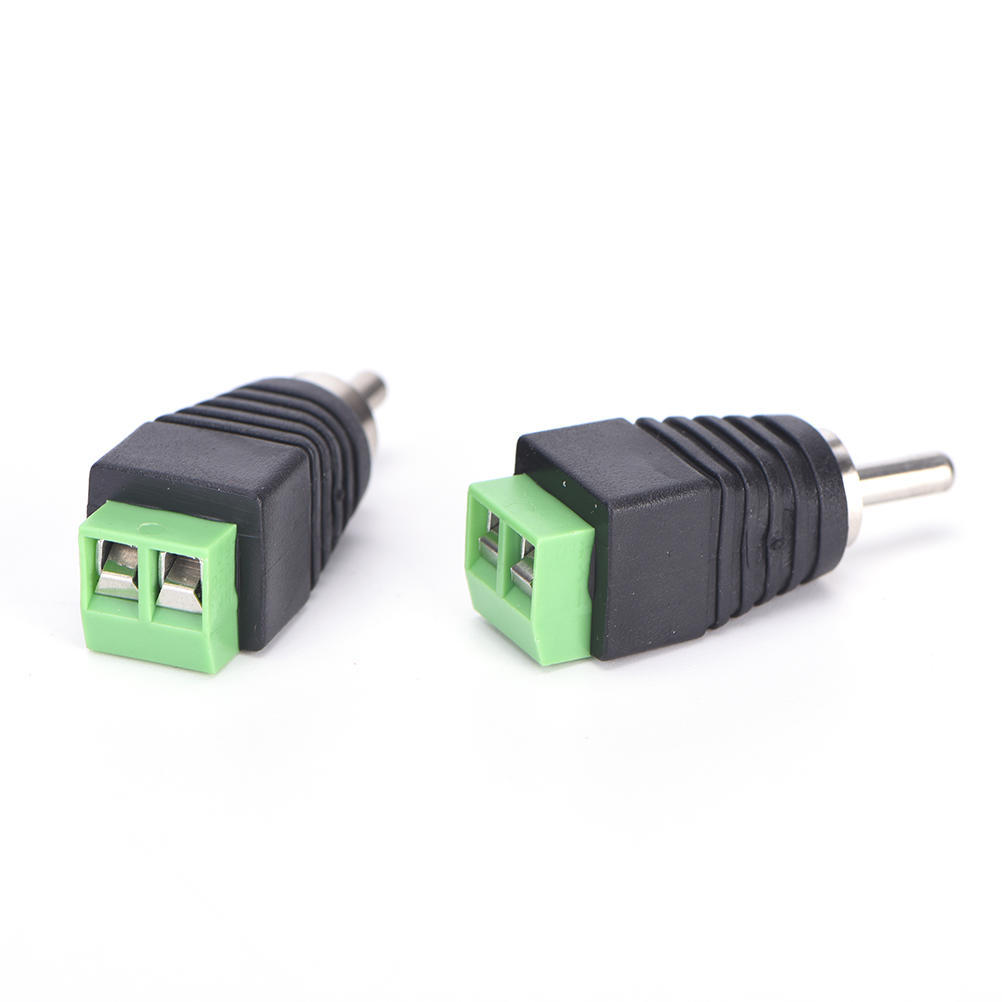4 Stk Lautsprecherkabel Kabel Audio männlichen Cinch Stecker Adapter ...