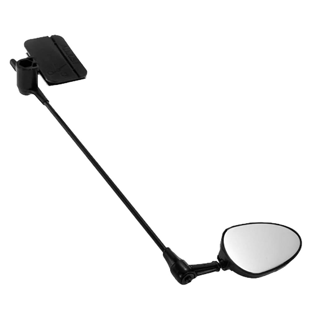 Bicycle 45mm Rear Mirror with 240mm Arm Bike Helmet Rearview Riding Mount