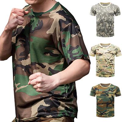 2e9ff6f0 New Army Military Shirt Men Camouflage Fitness T Shirt Tactical Combat T-Shirt  Quick Dry