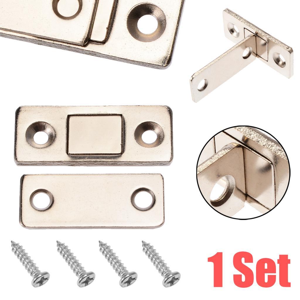 Cabinet Latch Door Cupboard Push To Open Damper Buffer Hidden Pulls Magnetic 58