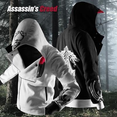 Assassin S Creed Hoodie Sweater Men Hooded Zipper Jacket Men S