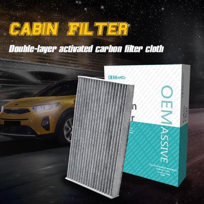 Car Accessories Pollen Cabin Air Filter 64316945596 64319194098 For X5 X6 E70 E71 E72 F15 F85 F16 F86 2008 2009 2010 2011 2012 2013 2014 2015 2016 2017 2018 2019