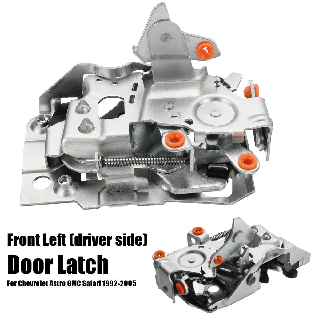 15063273 Front Driver Side Door Latch Assembly For 1992-2005 Chevrolet Astro