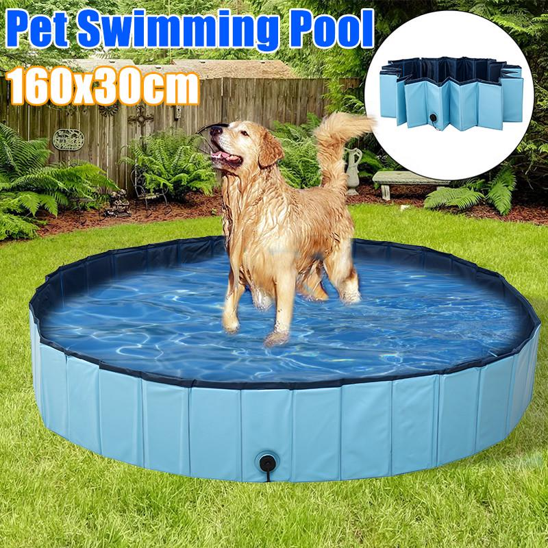 Foldable Pet Swimming Pool/Pond Dogs Cats Kids Bath Tub PVC Water Pond for  Garden Beach Yard Home - buy from 157$ on Joom e-commerce platform