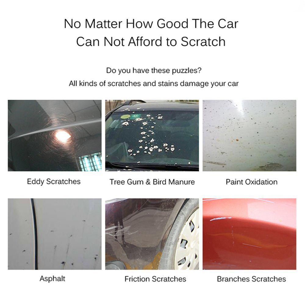 Magic Scratch Remover Cloth For Cars Easy Repair Paint Scratch Unworn Surface