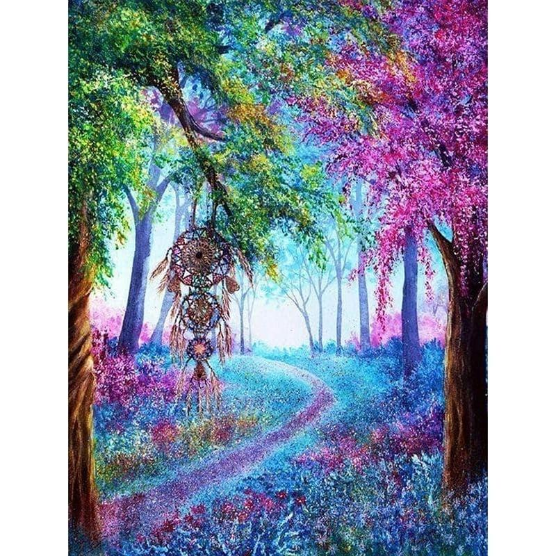5D DIY Diamond Painting Fantasy Forest & Trees Cross Stitch Diamond  Embroidery Mosaic Diamonds Wall Stickers Home Decor KBL-buy at a low prices  on Joom e-commerce platform