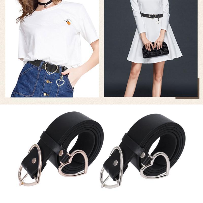 PU кожаный ремень для женщин металла сердце корсет свадебное платье Harajuku пояс – купить по низким ценам в интернет-магазине Joom