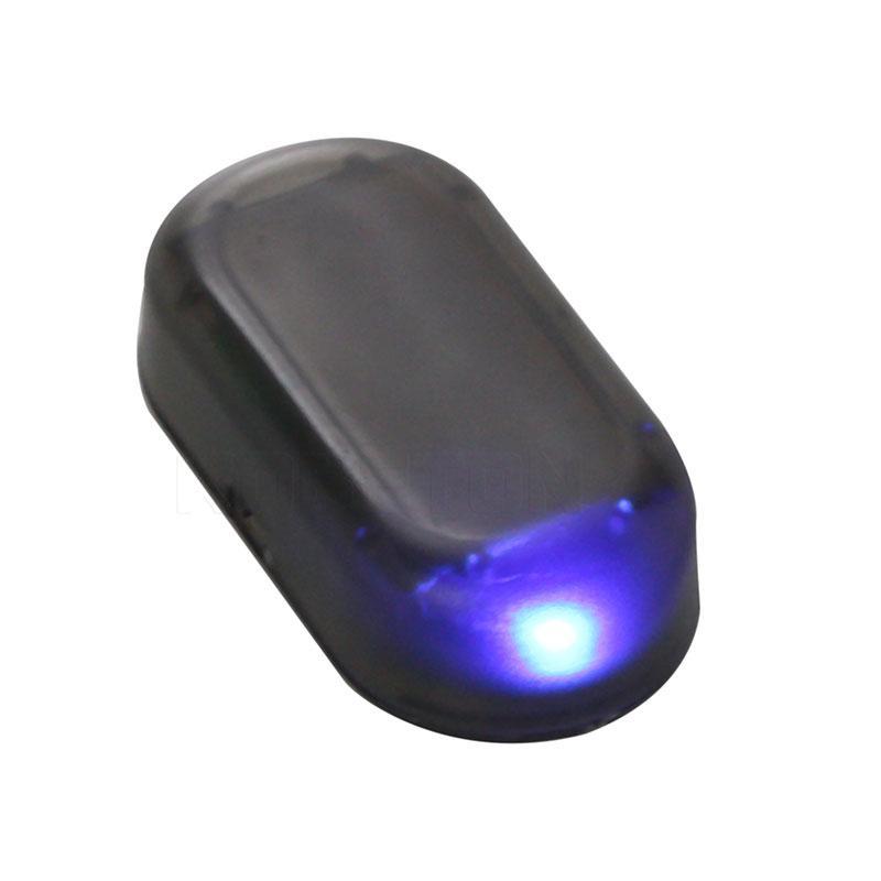 Car Fake Solar Alarm LED Light Blinking Security System Warning Anti Theft Flash