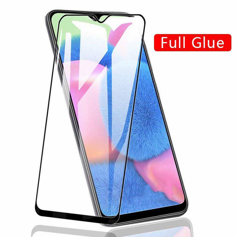 Полная обложка Защитный закаленный стеклянный экран Защитник пленки Samsung Галактика A30 A50 A50 A10 A10S A20S фото