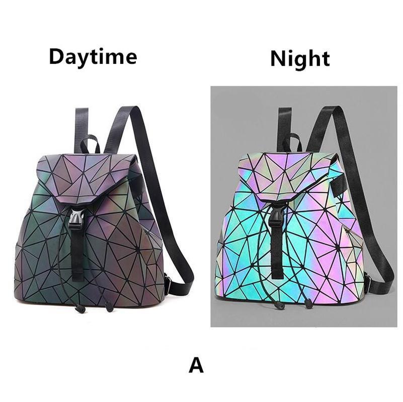 Wing women casual small packet preppy style Girl Laser Sequins School Bag Backpack Satchel Women Trave Shoulder Bag