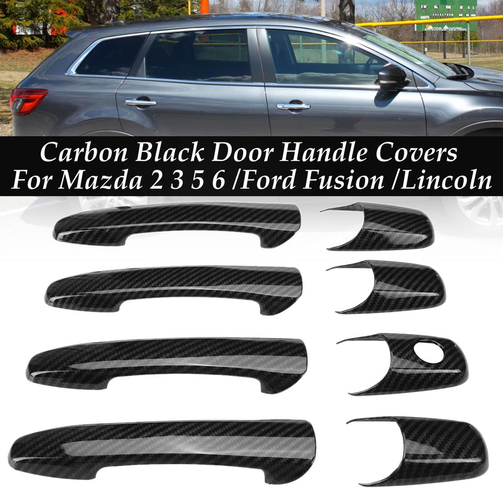 Car Door Handle Cover ABS Chrome Kit Set for Ford Edge Fusion Lincoln Mercury