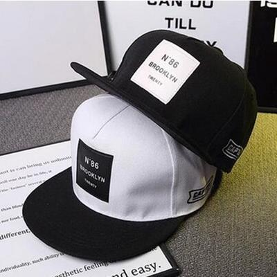 Men Women Adjustable Baseball Cap Hip-Hop Bboy Snapback Hat Fashion Hat-3 Color
