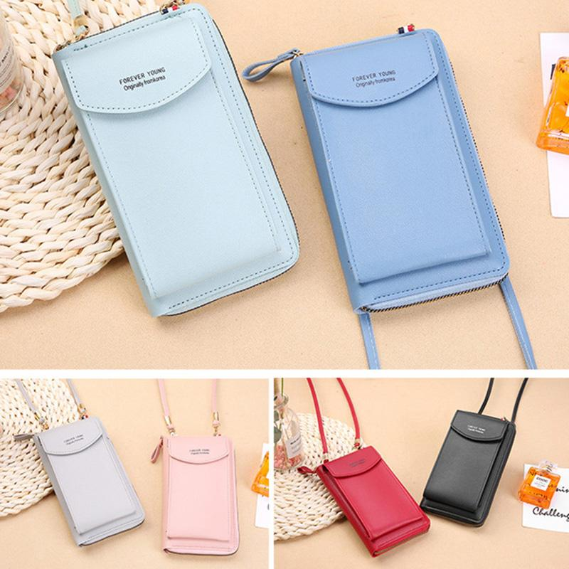 Yogodlns женщин высокого качества сотовый телефон карманный моды PU Кожаные держатели карты Малый Кроссбоди мешок – купить по низким ценам в интернет-магазине Joom