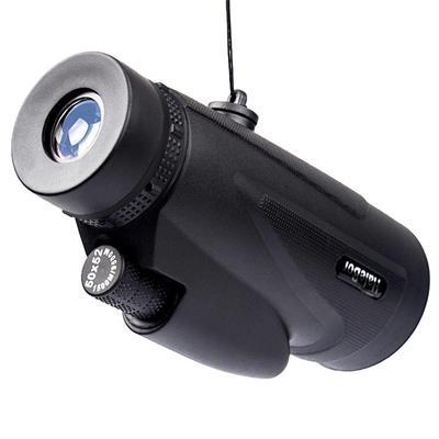 silver JIUY 8X20 Outdoor Telescope Pocket Mini Telescope Small Corner Hd Optical Monocular Outdoor Portable Monocular