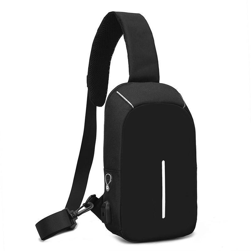Men/'s Chest Pack Crossbody School Messenger Notebook Minimalist Backpack Bag