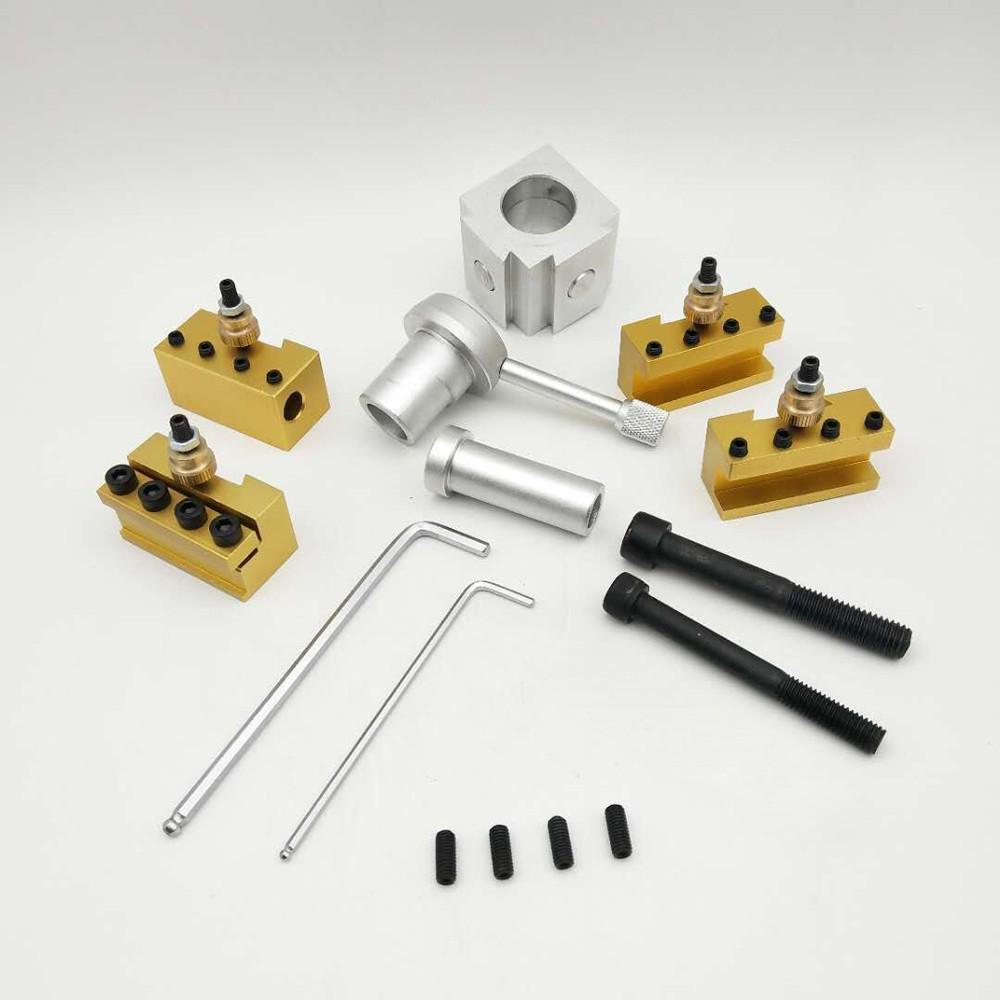 4PCS 12mm Lathe Boring Bar Turning Holder Tools 10x DCMT0702 Carbide Insert UK
