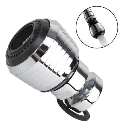 Home Improvement Inner Thread Kitchen Water Saving Faucet Of Adjustable Shower Nozzle Filter Adapter Faucet Angle 360 Degree Silver+black Easy And Simple To Handle