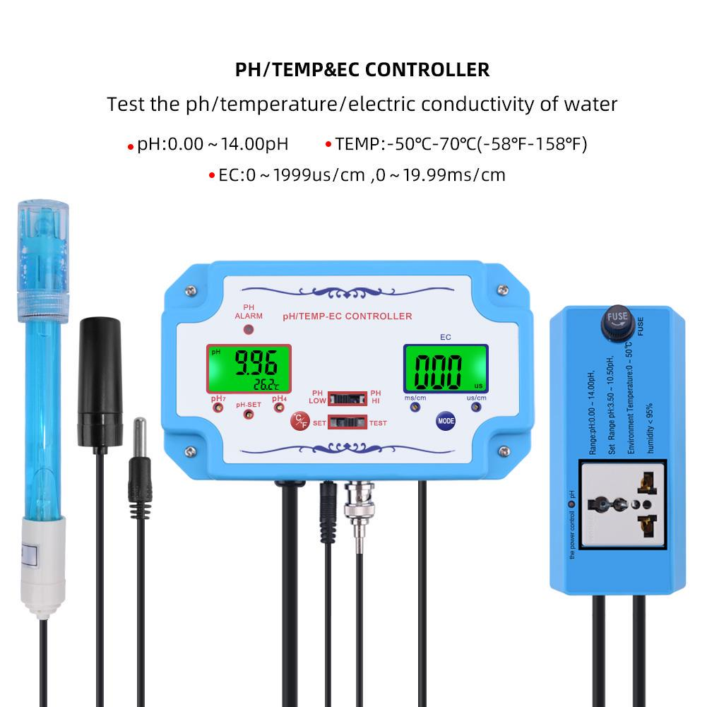PH Electrode Probe BNC Connector 0-14 for PH Controller Water Quality Sensor