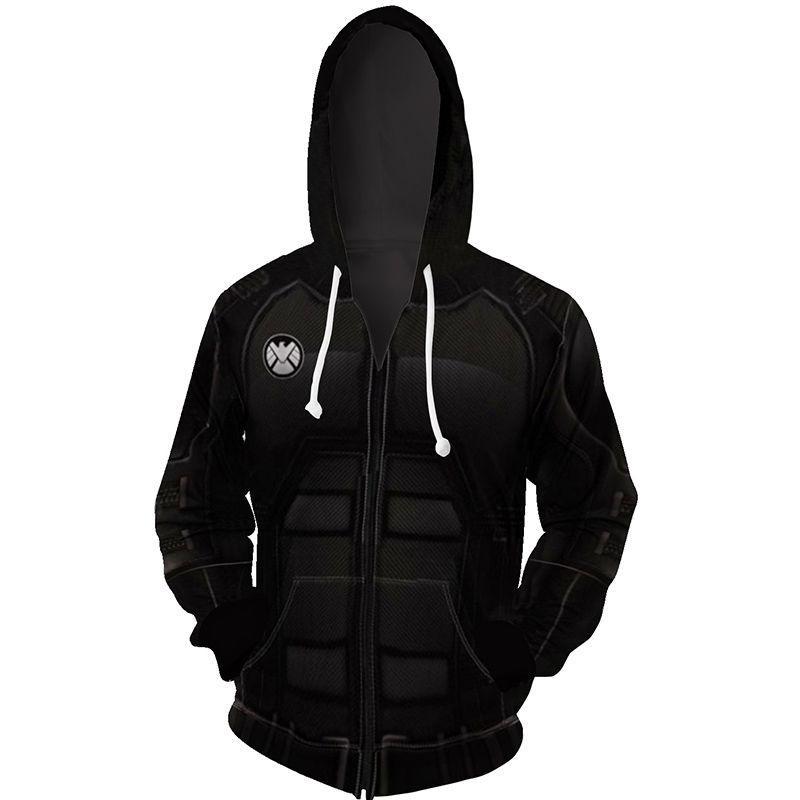 The Avengers 3D Printed Men/'s Hoodie Sweatshirt Cosplay Coat Jacket Costume Xmas