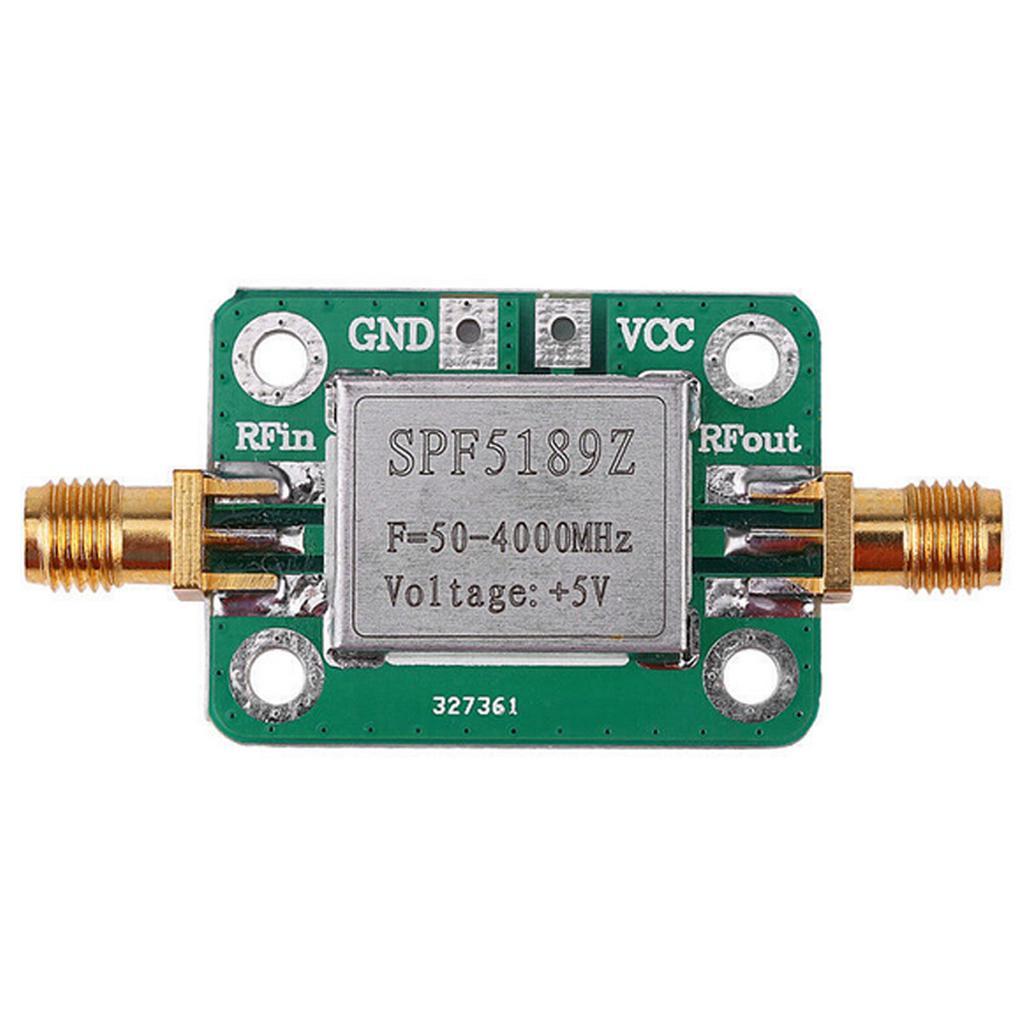 Ultra Low Noise Amplifier 10-6000 MHz RF LNA *40 dB* Gain; 0.8 dB Noise Figure