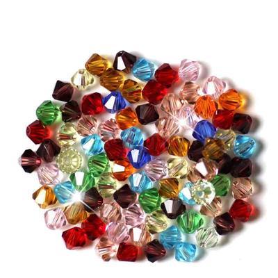 """Dia. 4//8/"""" 100PCs Acrylique Ballon Rond Perles Intercalaires Noir 12 mm"""