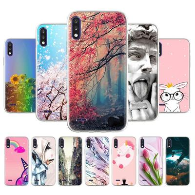 Soft TPU Phone Case For LG K22 LMK200Z LMK200E LMK200B LM-K200 6.2 Inch Cover Anti-fall Anti-dust Bumper Phone Back Shell Protection Fundas Coque