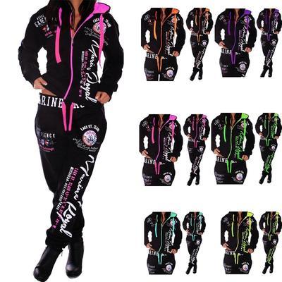 Women's Fashion Hoodies Set Sweatsuits Sports Suit Sports Pants Neon  Fitness Tracksuit Jogging Suit-buy at a low prices on Joom e-commerce  platform