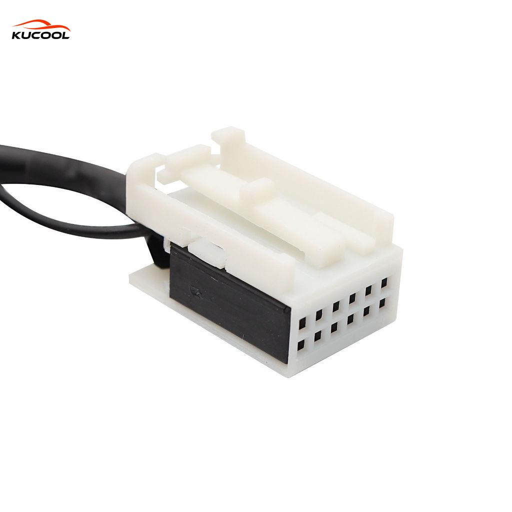 Car Audio USB//SD MP3 Interface AUX Adapter For VW Skoda Seat Quadlock 12Pin