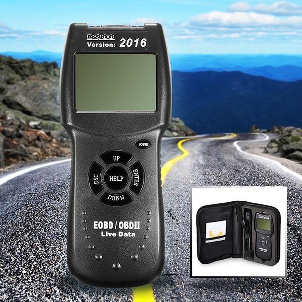 2016 Universal D900 OBD2 EOBD CAN Car Fault Code Reader Diagnostic Scanner Tool