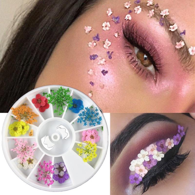 Tattoo Flower Makeup Eyeliner
