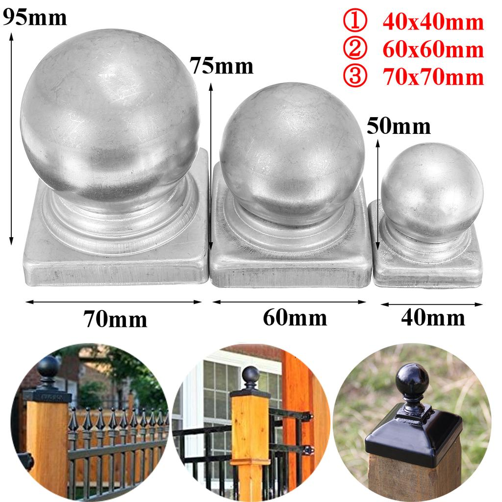 Cast Iron Post Caps For Fence Gate Balcony