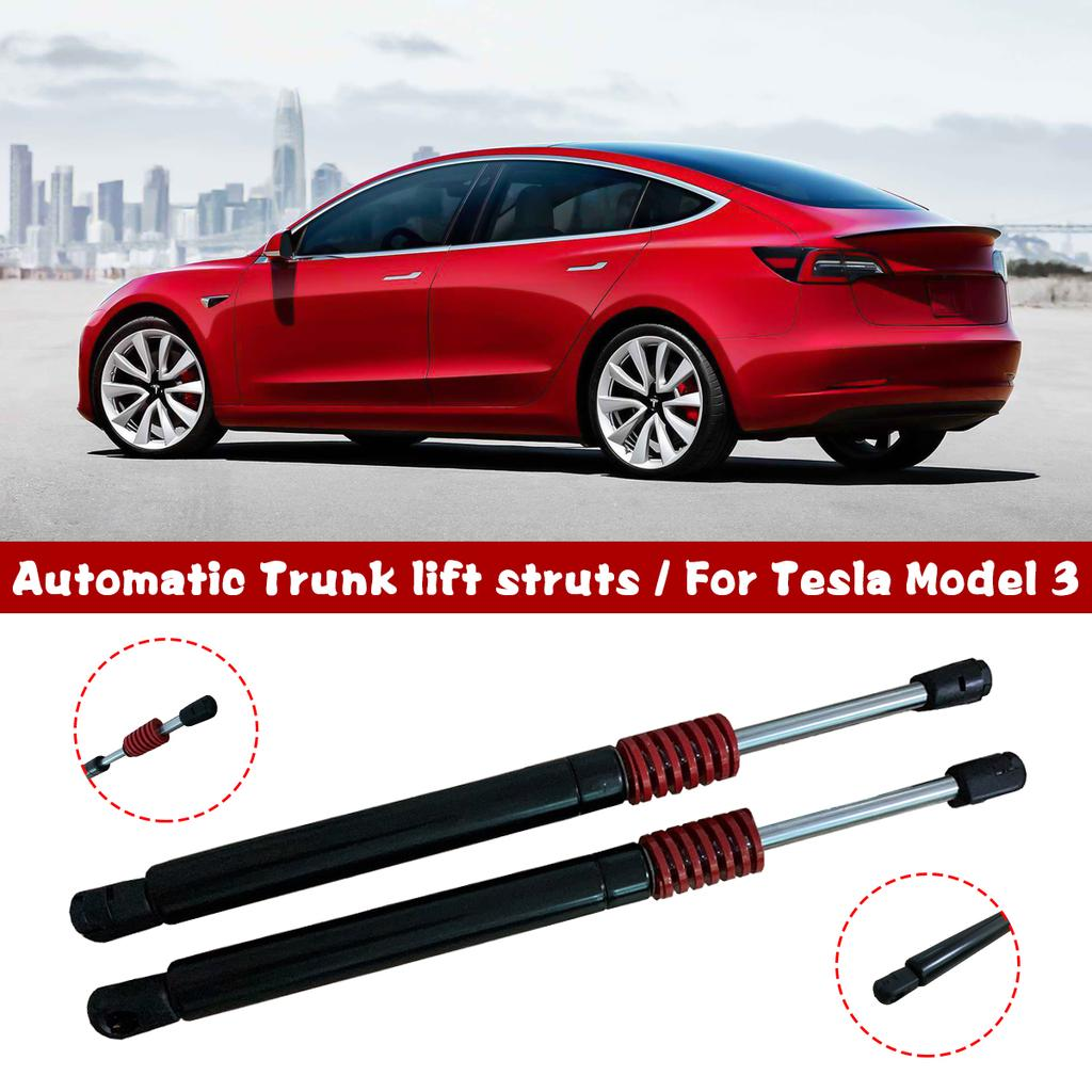 2X Gas struts Spring for Tesla Model 3 Automatic Trunk Lift Supports Rear Trunk Struts Spring