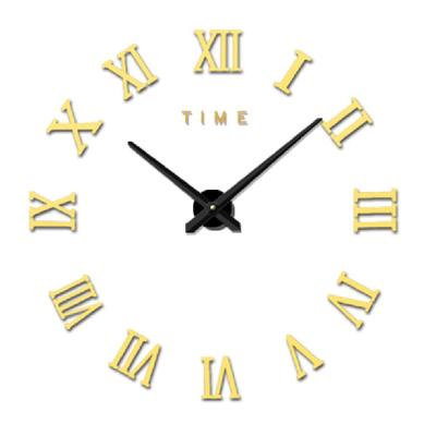 Big Diy Wall Clock Modern Design Large Clocks Personality Acrylic Mirror Wall Clock Home Decor Buy At A Low Prices On Joom E Commerce Platform