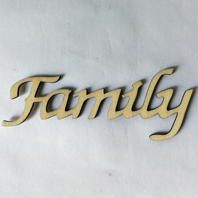 Family Door window wall Sticker Decal Self Adhesive Vinyl pintrest wood craft
