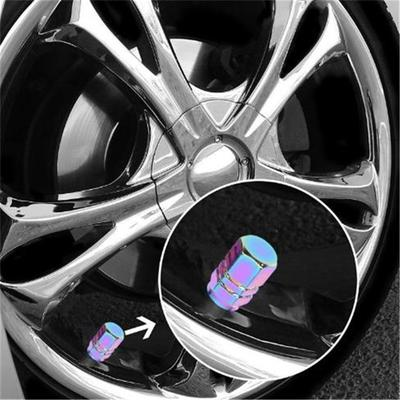 Five-Pointed Star Shape Crown Tire//Wheel Rims Air Valve Stem Cap for Car Truck Bike Motor 4Pcs