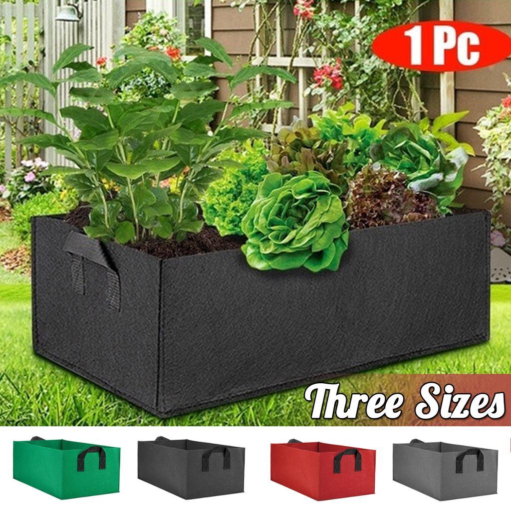 100Pc Plastique Jardin Pots Fleurs Bacs à Semis Plantes de conteneurs 3 Tailles