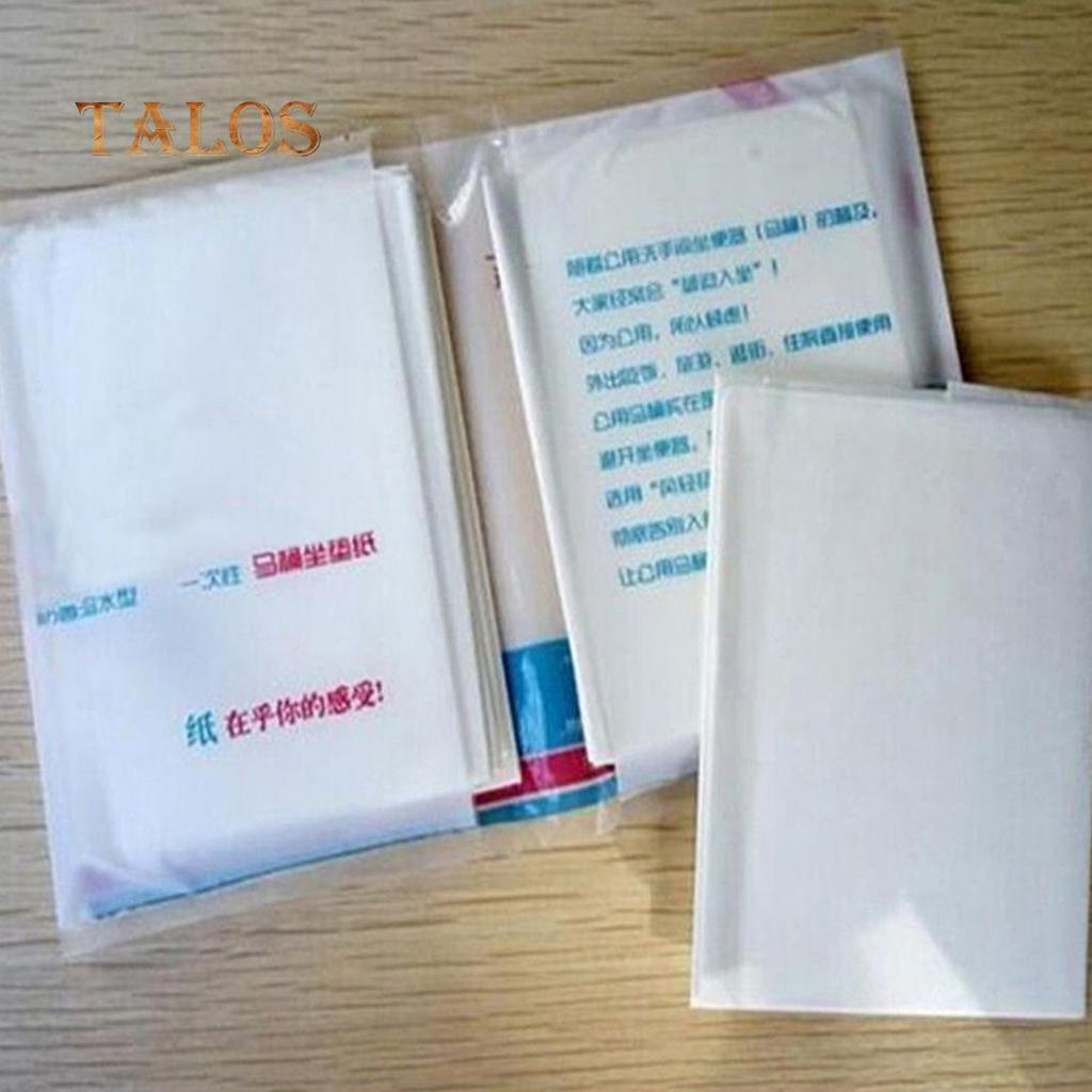 10pcs Toilet Seat Covers Paper Travel Biodegradable Disposable Sanitary US