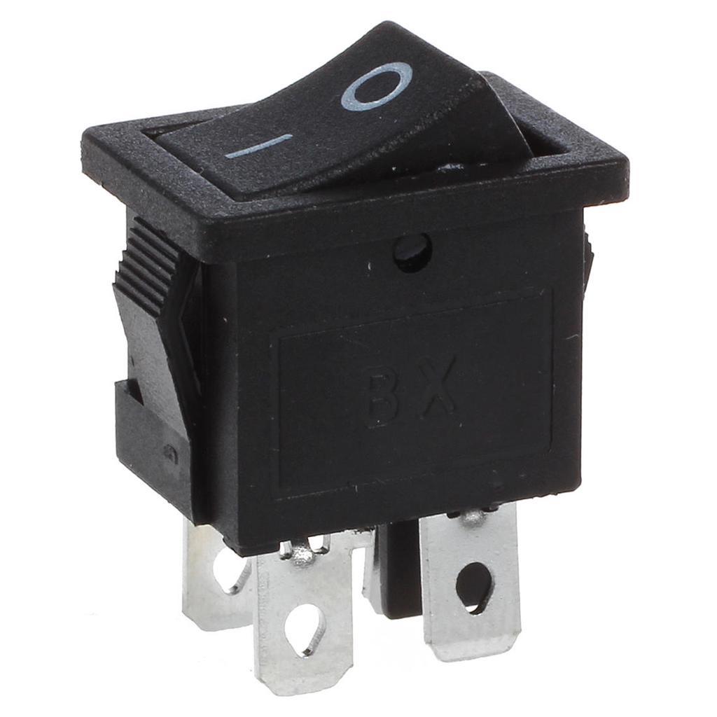 Amico 10 Pcs X 4 Pin ein-/ 2 Position DPST Boot Rocker Schalter 10A ...