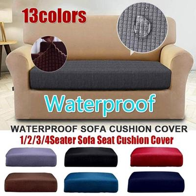 1-4 Seat Sofa Throw Towel Slipcover Polyester Stretch Cushion Couch Chair Covers