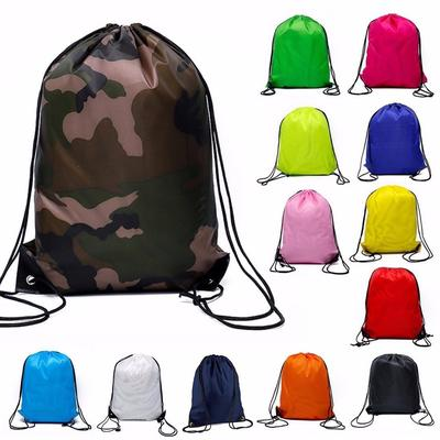 Red Shoes Drawstring Backpack Sports Athletic Gym Cinch Sack String Storage Bags for Hiking Travel Beach