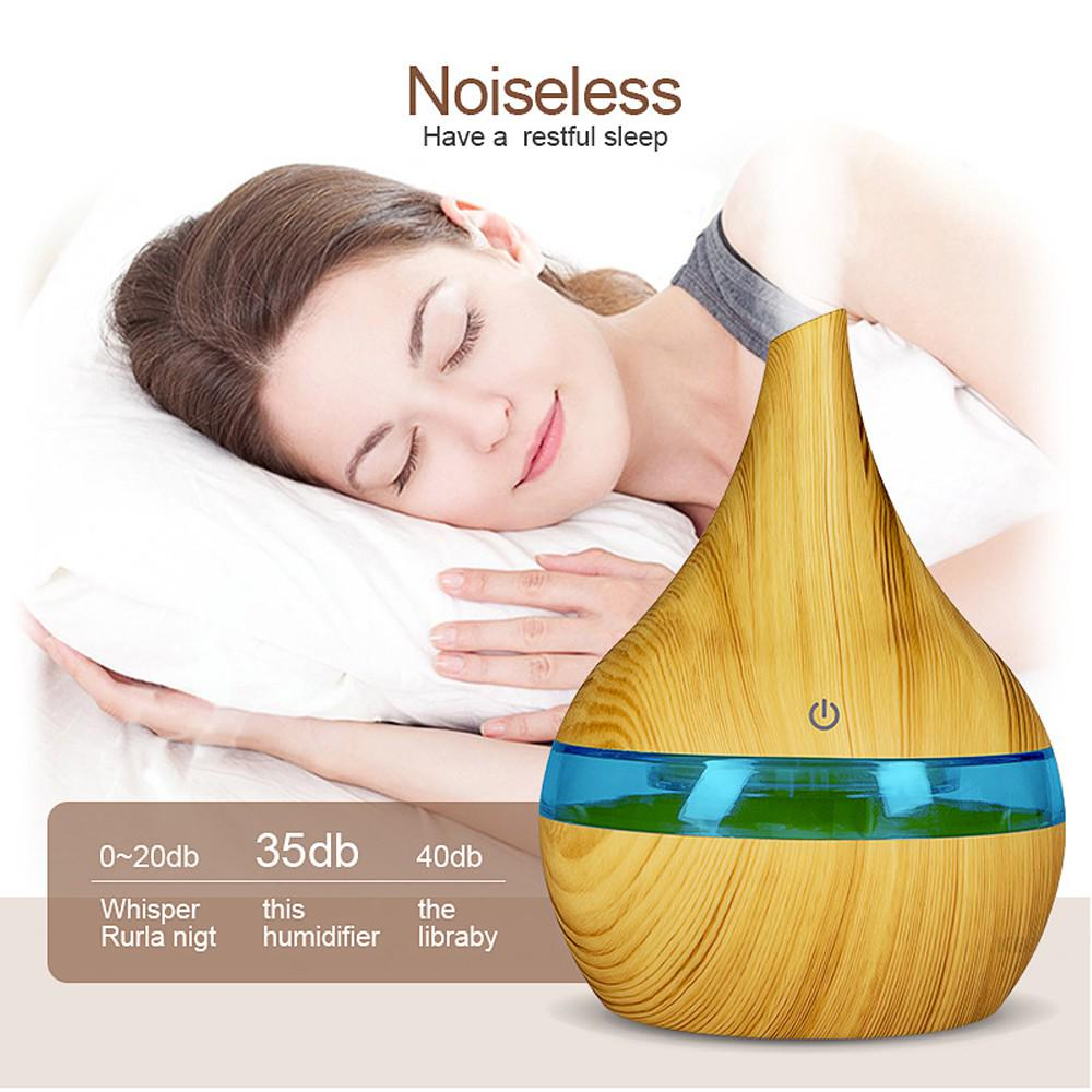 Electric Aroma Essential Oil Diffuser Ultrasonic Air Humidifier Aromatherapy Z