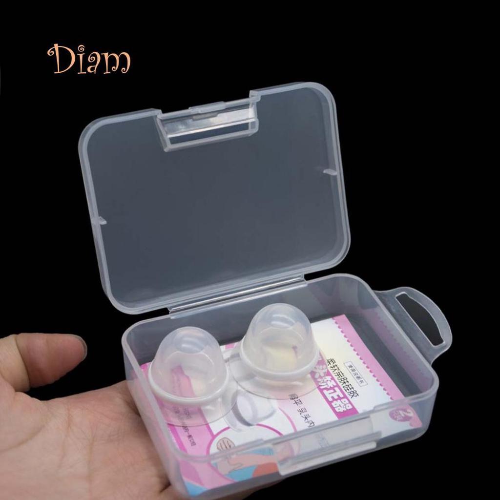 SUPVOX 2pcs mamelon bouclier protecteur de bouclier dallaitement en silicone avec /étui de protection antipoussi/ère